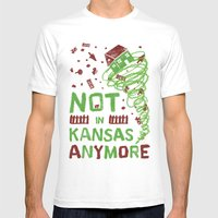 Not In Kansas Anymore Mens Fitted Tee White SMALL