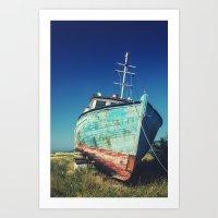 Washed Ashore Art Print