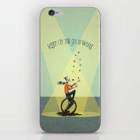 KEEP UP THE GOOD WORK iPhone & iPod Skin