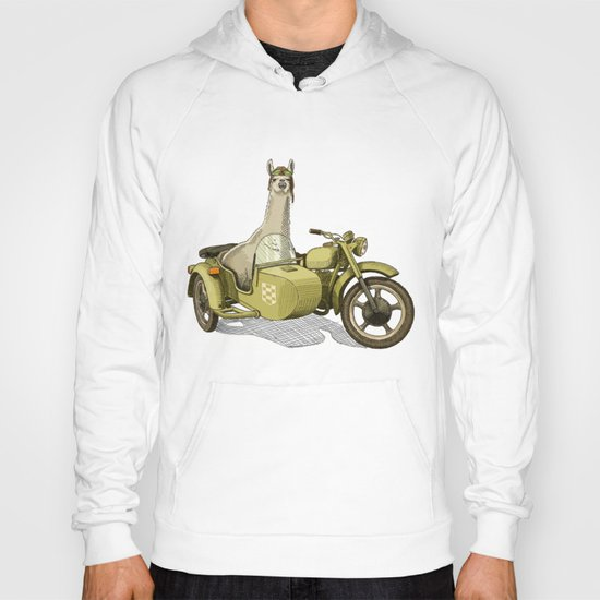 Sidecar Llama Hoody