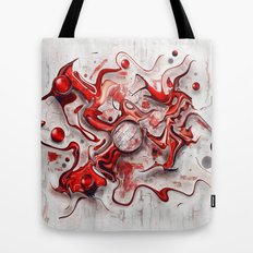 Red-Wild  Tote Bag