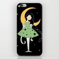 Moonlight Ballerina iPhone & iPod Skin
