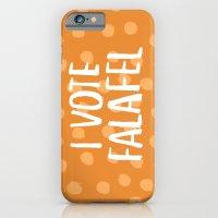 I Vote Falafel iPhone 6 Slim Case