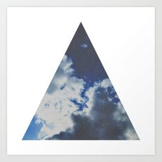 geometry. Art Print