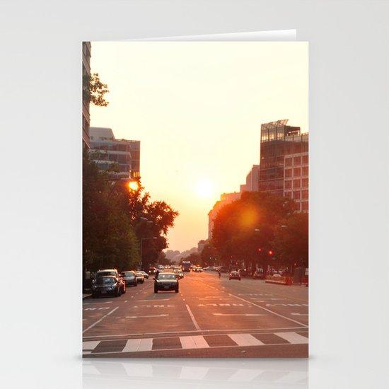 Washington Heat Stationery Card
