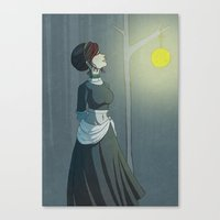 A Calm Night Canvas Print