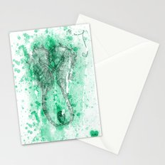 The Seahorses - Frozen in time Stationery Cards