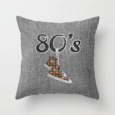 80's memories Throw Pillow