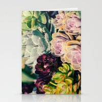 Cacti And Succulents I Stationery Cards