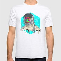 Psychonaut - Light Mens Fitted Tee Ash Grey SMALL