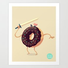 Baked to Rule Art Print