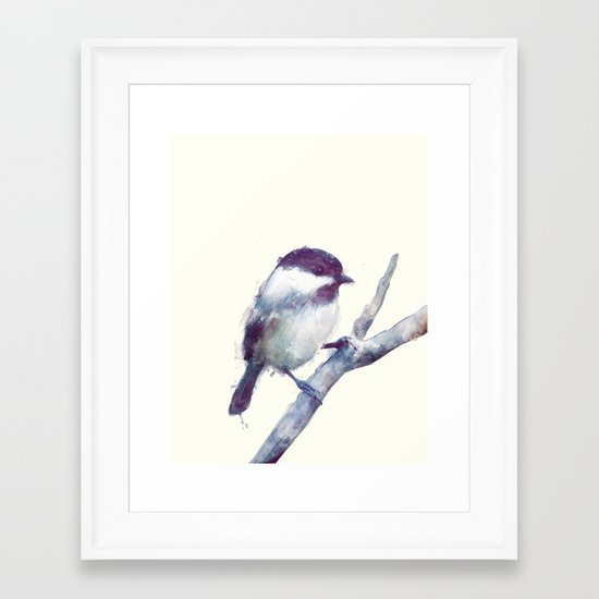 Bird // Trust Framed Art Print