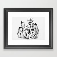 Curious Kewps Framed Art Print