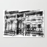 The Cockpit Pub London V… Canvas Print