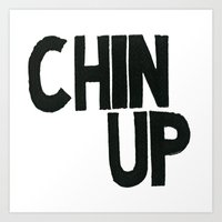 Chin Up Art Print