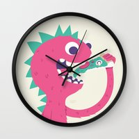 Pizza Forever Wall Clock