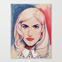Gwennie Gwen Gwen Canvas Print