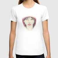 Little Red Riding Hood Womens Fitted Tee White SMALL