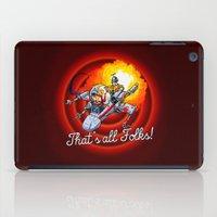 Porkins (v2) iPad Case