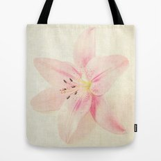 Flower On a Canvas  Tote Bag