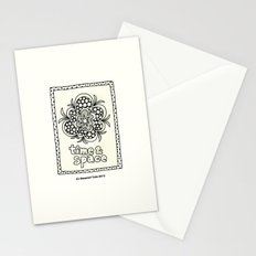 time and space Stationery Cards