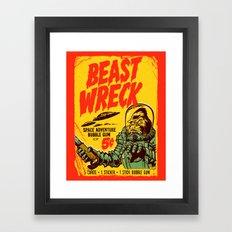 BEASTWRECK ATTACKS! Framed Art Print