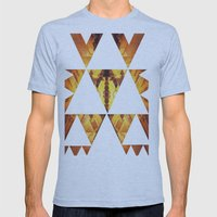 BEEVISION Mens Fitted Tee Athletic Blue SMALL
