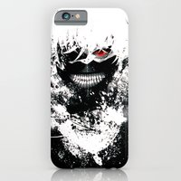 iPhone Cases featuring Kaneki Tokyo Ghoul by Prince Of Darkness