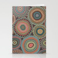 Boho Patchwork-Vintage C… Stationery Cards