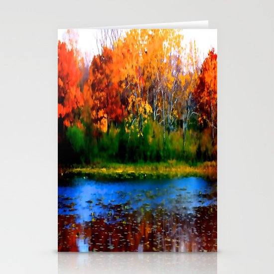 Remember Autumn Stationery Card