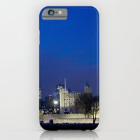 Tower of London at night iPhone 6 Slim Case
