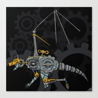 Clockwork Dragon Canvas Print