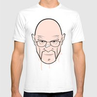 Walter White - Breaking Bad Mens Fitted Tee White SMALL