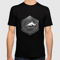 Toothy Mens Fitted Tee Black SMALL