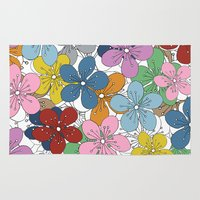 Cherry Blossom Colour - … Rug