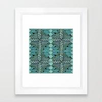 Ink Pattern No.3 Framed Art Print
