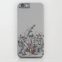 iPhone & iPod Case featuring Police Brutality by Peter Kramar