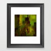 The Green City Framed Art Print