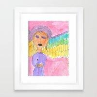 2006 Angel Framed Art Print
