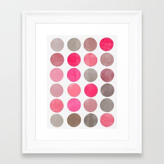 colorplay 4 Framed Art Print