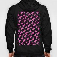 Gamer  - Pink on White Hoody