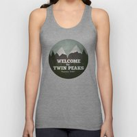 Welcome To Twin Peaks Unisex Tank Top