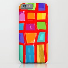 Colorful Grid Slim Case iPhone 6s