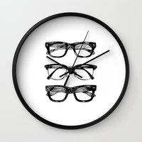 Go Hipster! Wall Clock
