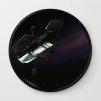 Hubble Space Telescope Wall Clock