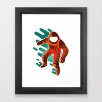Space Distortion Framed Art Print