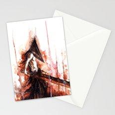 pyramid head Stationery Cards
