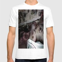Possession Mens Fitted Tee White SMALL