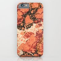 Marble Pink Square # 1 iPhone 6 Slim Case