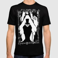 Dr. Caligari Mens Fitted Tee Black SMALL